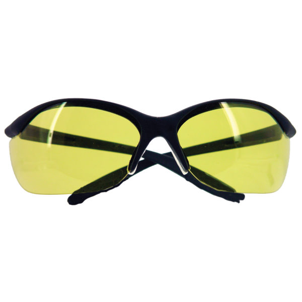 H_L Vapor II Black Amber Glasses