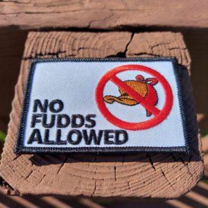 No Fudds Patch