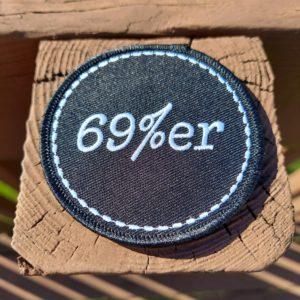 Sixty Nine Percenter Patch